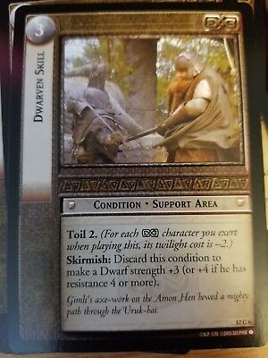 Lord of the Rings CCG Black Rider 12C115 Golden Glimmer LOTR TCG