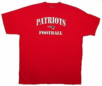 New England Patriots Shirt Men's Big & Tall NFL Football Practice Tee T-Shirt