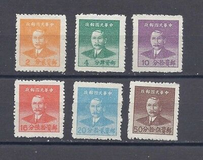 China 1949 Silver Yuan SYS Issue, Coarse Impression, MLH. NGAI.