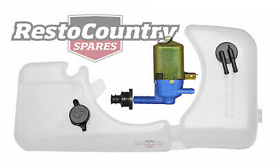 Holden Commodore Radiator Overflow + Washer Bottle + Pump VK reservoir tank