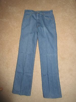 VINTAGE LEVI'S - Jeans - 1970's - SF 207 - Orange Tab - Talon - 30x32
