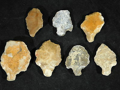 Lot of Rare Authentic Aterian Lithic Artifacts 55,000 to 12,000 Years Old 94.0gr