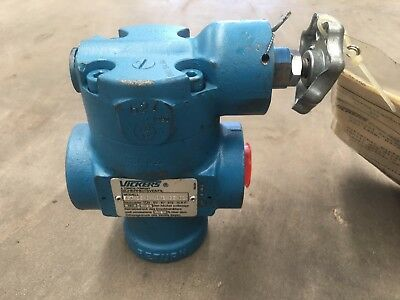 Vickers Model Ect 06 C 10Tb Ge100 Hydraulic Pressure Relief Valve