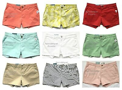 """NWT OLD NAVY Authentic Women's 3.5"""" Inseam, Mid-Rise Shorts, Colors+Sizes"""