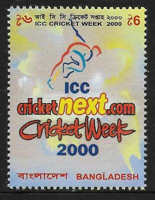 BANGLADESH 2000 ICC CRICKET WEEK 1v Mint Never Hinged