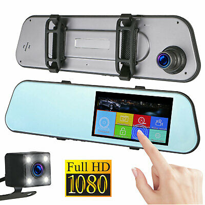 "4"" Vehicle 1080P Car Dashboard DVR Camera Video Recorder Dash Cam G-Sensor"