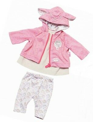 Zapf Creation Baby Annabell® Puppenkleidung Outfit mit Jacke, 46 cm