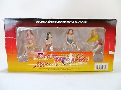 'fast Women' #846 'the Washdown 1:18 Figures For Diecast Models. Mib/boxed