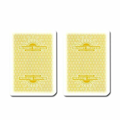 Authentic Cancelled Casino Playing Cards, Really Used at Sunset Station