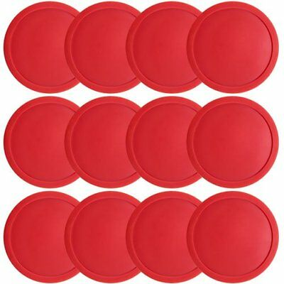 """3.25"""" Full Size Air Hockey Pucks for Large Air Hockey Tables, 12-pack"""