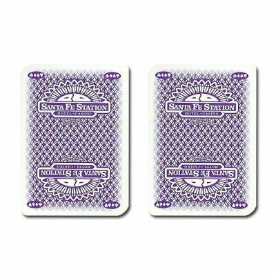 Authentic Cancelled Casino Playing Cards, Really Used at Santa Fe