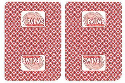 Authentic Cancelled Casino Playing Cards, Really Used at Palms Casino