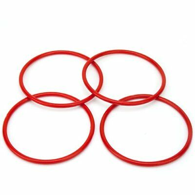 "Midway Monsters Large Ring Toss Carnival Game Rings, 5"" Diameter, 4-pack"