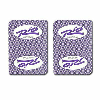 Authentic Cancelled Casino Playing Cards, Really Used at Rio