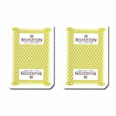 Authentic Cancelled Casino Playing Cards, Really Used at Silverton