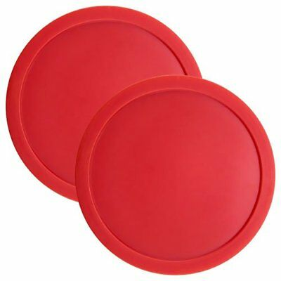 """3.25"""" Full Size Air Hockey Pucks for Large Air Hockey Tables, 2-pack"""
