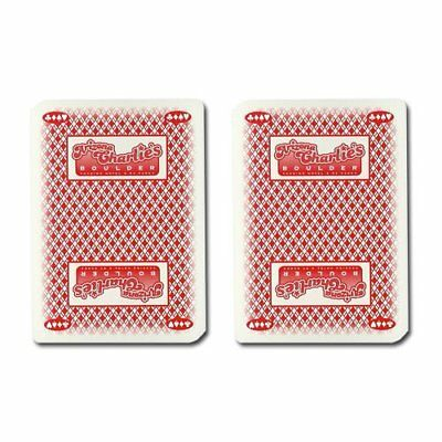 Authentic Cancelled Casino Playing Cards, Really Used at Charlie Boulder