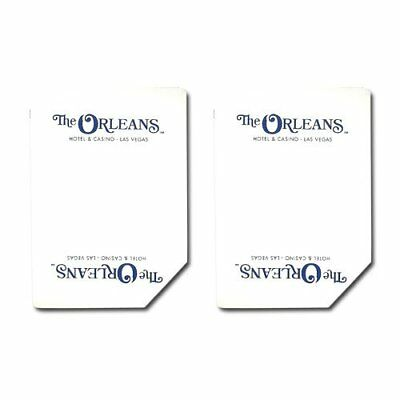Authentic Cancelled Casino Playing Cards, Really Used at Orleans Casino