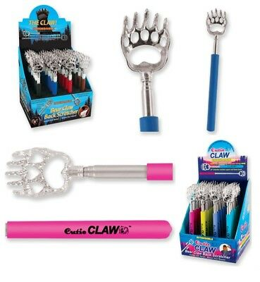 Cutie Claw Or Bear Claw Extendable Telescopic Compact Back Scratcher Asst Colors