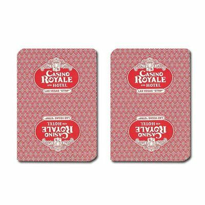 Authentic Cancelled Casino Playing Cards, Really Used at Casino Royale