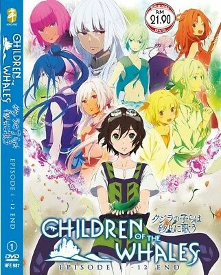 *Neu* CHILDREN OF THE WHALES | Episodes 01-12 | English Subs | 1 DVD (HFE987)