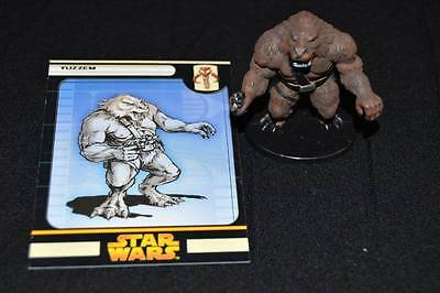 Star Wars Miniatures Revenge Of The Sith Game Yuzzem Figure W/Card #54