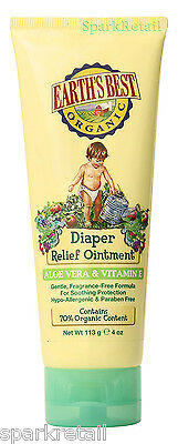 Jason Earth's Best Organic DIAPER Relief Ointment Nappy Rash Salve 113g