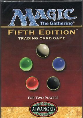5TH EDITION 2 - PLAYER STARTER DECKS X1 MAGIC Mtg CITY OF BRASS FACTORY SEALED!