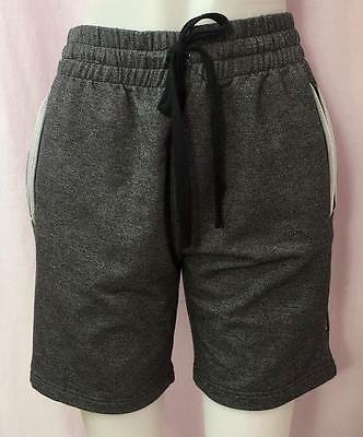 Sugar and Bruno Super Terry Lounger Shorts in Gray, Girls (Unisex) Sz M, NWT