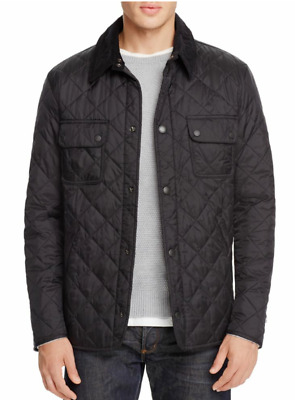 Barbour Men's Black Tinford Quilted Lightweight Jacket