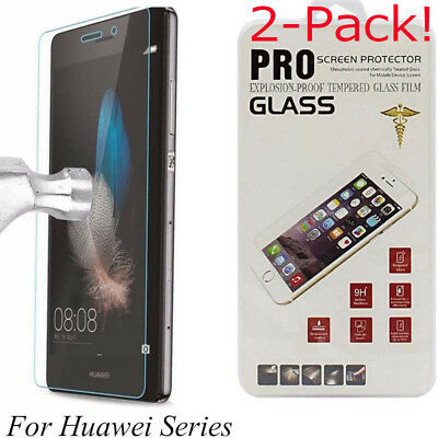 Tempered Glass Screen Protector For Huawei P20 P8/P9/P10Plus/Lite / Mate 20 lite