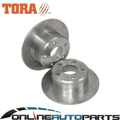 2 Rear Disc Brake Rotors Commodore VR VS with IRS Holden V6 V8 Independant Rear