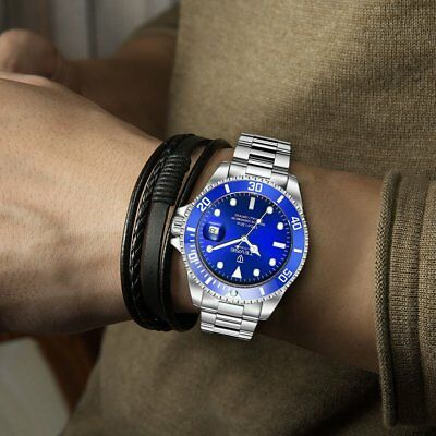 TEVISE T801 Men Automatic Mechanical Watch Fashion Waterproof Luminous Watch TJ