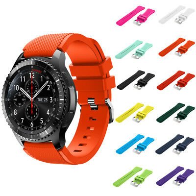 S3 For Samsung Silicone Strap Band Frontier Hot Gear Colors Luxury Watch Sports