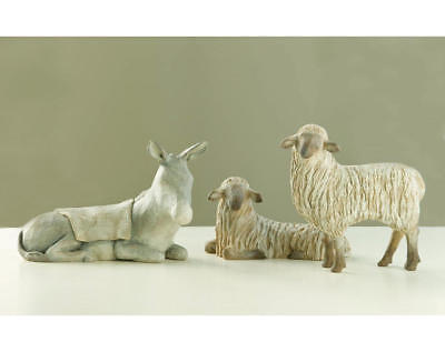 Gentle Animals of the Stable Willow Tree Nativity Figurine Set Susan Lordi 26206