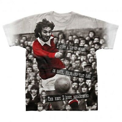 Manchester United Football Legend George Best Gift Mens T-Shirt