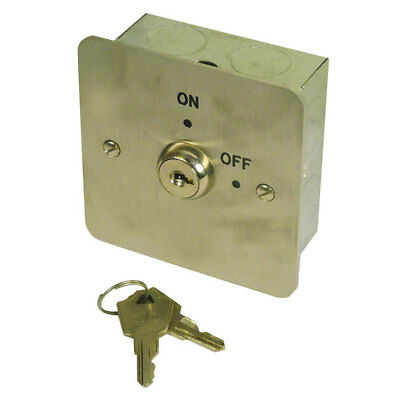 Asec 1 Gang On/Off Key Switch (AS8014)