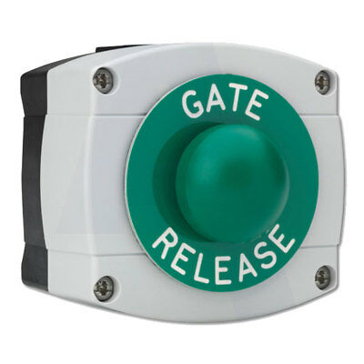Asec Surface Mounted Gate Release Green Dome (AS10694)