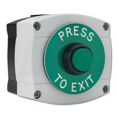 Asec Surface Mounted Press To Exit Button (AS10689)