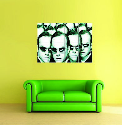 The Matrix Agent Smith Movie Sci Fi Giant Wall Art New Poster Print Picture