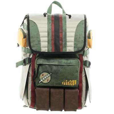 Star Wars Backpack Bag Boba Fett Armour Rucksack new Official