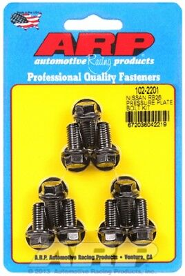 ARP 102-2201 Pressure Plate (Clutch Cover) Bolts fit Nissan 2.6L RB26 Inline 6,