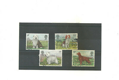 GB 1979 Dogs          set of 4 used stamps