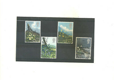 GB 1979  Spring Wild Flowers  set of 4 used stamps
