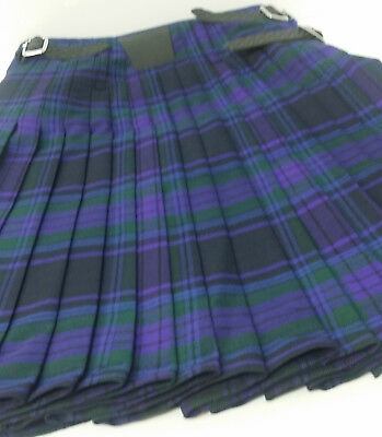 Ex Hire 8 Yard Wool Spirit Of Scotland 8 Yard Kilt A1 cond many sizes