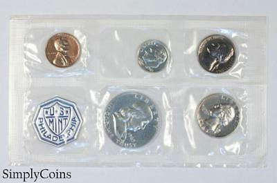1963 Proof Set ~ NO ENVELOPE ~ US Mint Silver Coin Lot SKU-1180
