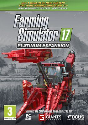 Farming Simulator 17 Platinum Expansion PC - totalmente in italiano