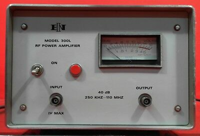 ENI 300L Amplifier, 250 kHz to 110 MHz, 20 Watts