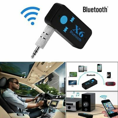 X6 Wireless Bluetooth Aux Audio Receiver Adapter Handsfree Car Kit MP3 Player