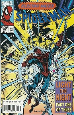 Spider-Man #38 (1993) Marvel Comics V/f+